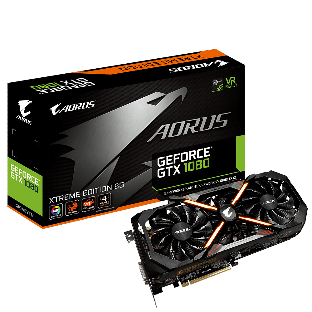 AORUS GeForce® GTX 1080 Xtreme Edition 8G