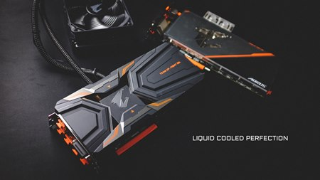 Two Liquid Cooled AORUS GeForce® GTX 1080 Ti Graphics Cards Launched