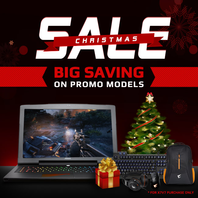 2017 Christmas Sale | AORUS UK